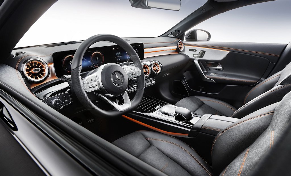 New Mercedes-Benz CLA Interior