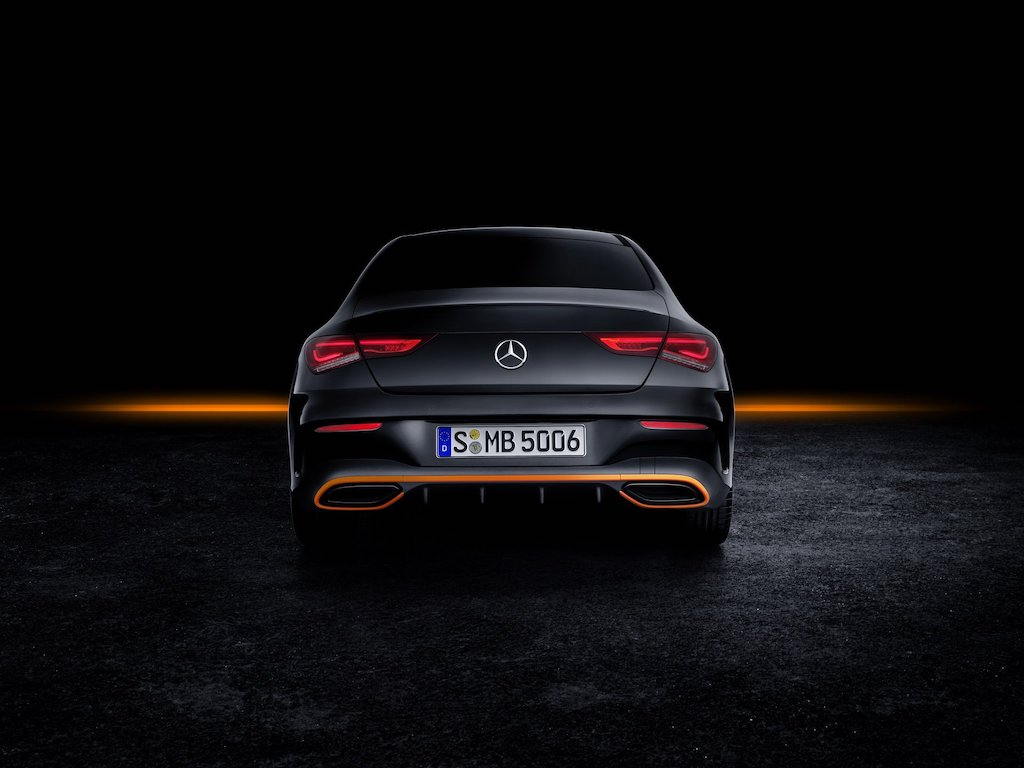 New Mercedes-Benz CLA Rear