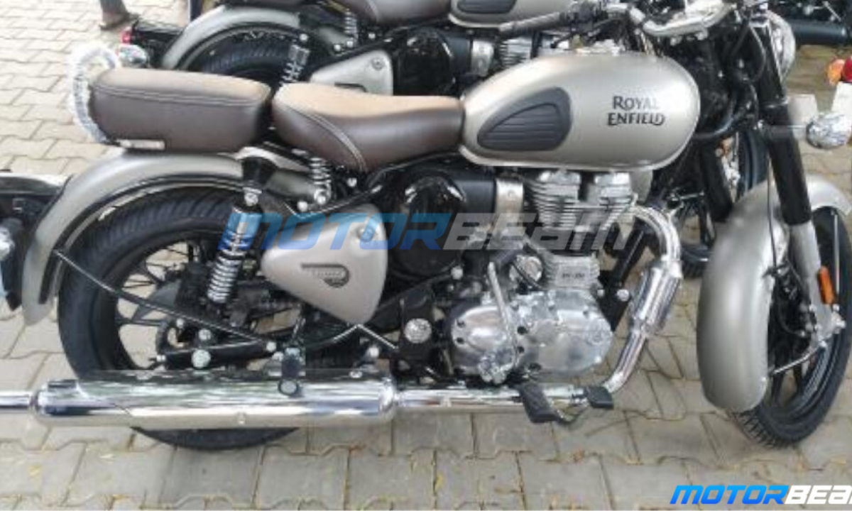New Re Classic 350 Bs6 Spotted Motorbeam Com