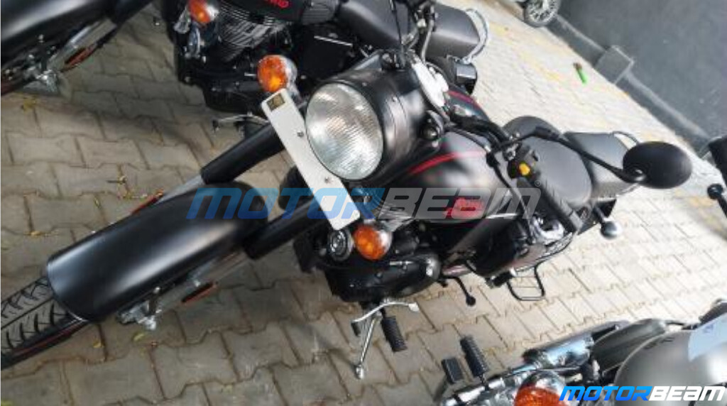 New RE Classic 350 BS6 Spied
