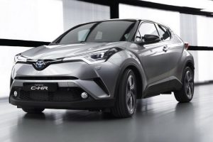 New Toyota C-HR Front