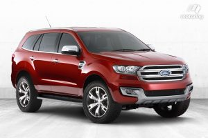 Next Gen Ford Everest