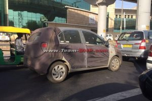 Next Generation Hyundai Santro Spied
