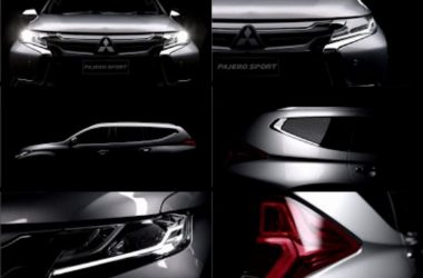 Mitsubishi Releases Teaser For New Pajero Sport