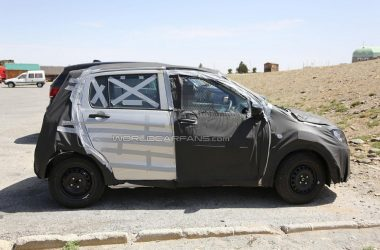 Next Generation Suzuki Alto Spied Side