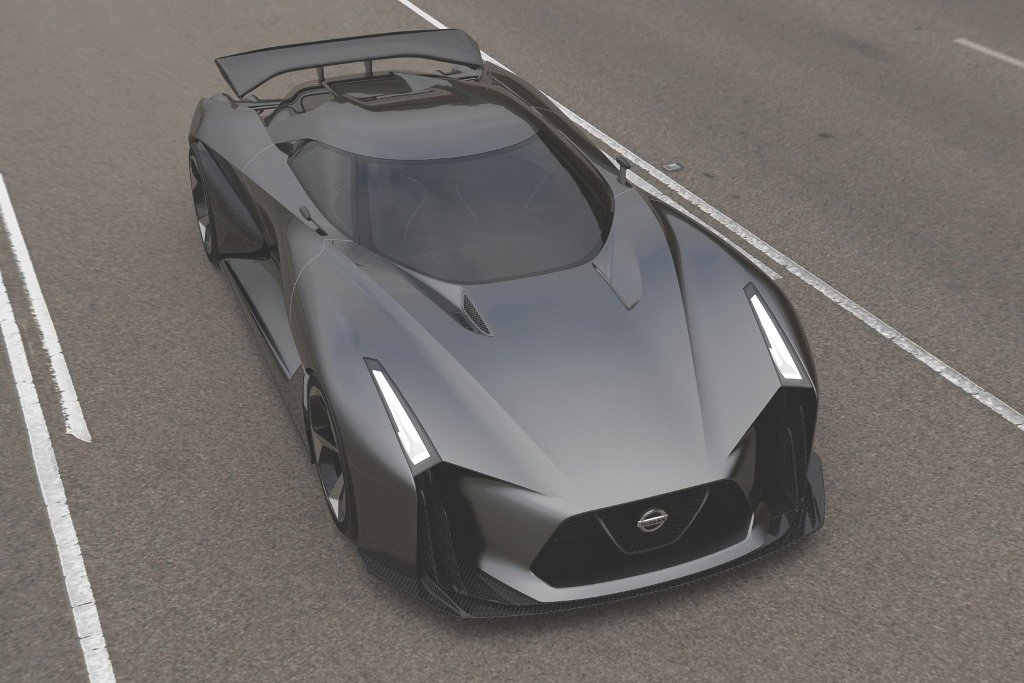 Nissan Concept 2020 Vision Gran-Turismo Front