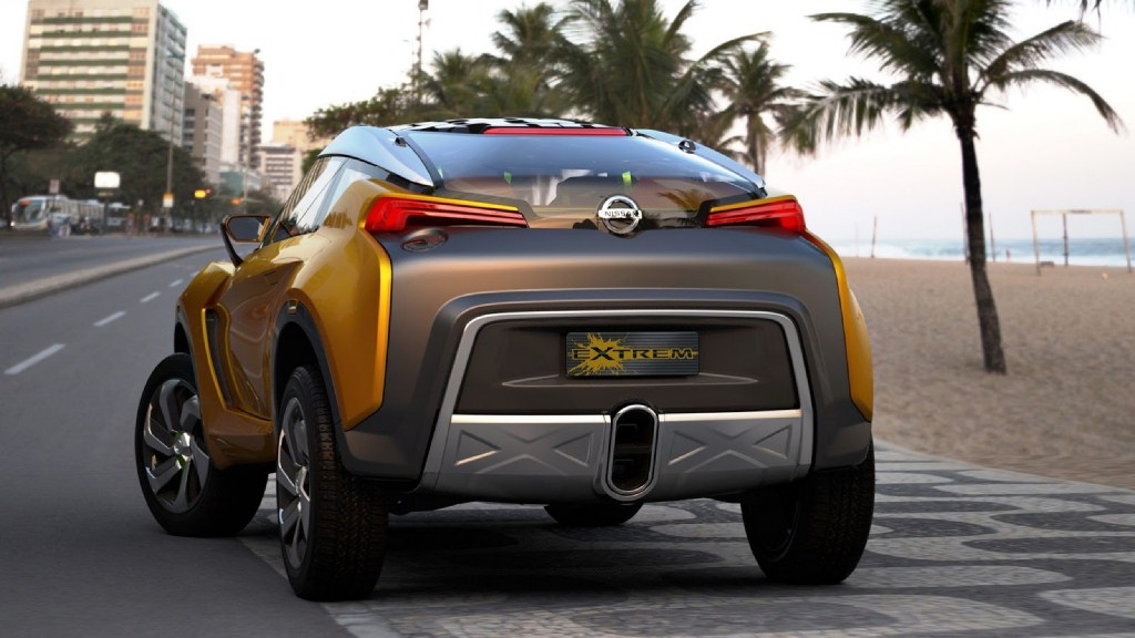 Nissan Extreme Concept Rear