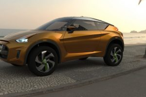 Nissan Extreme Concept Side