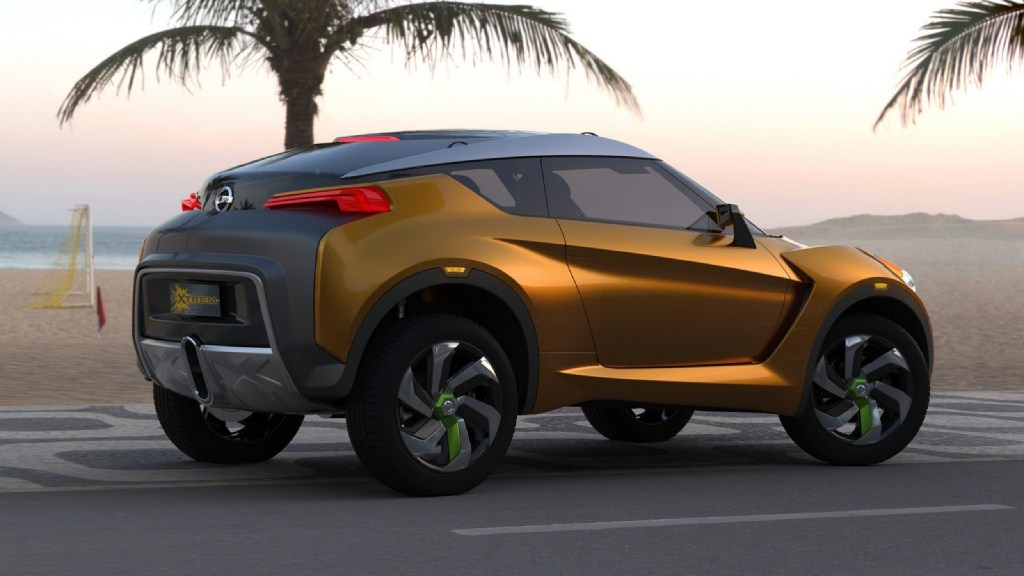 Nissan Extreme Concept Side Profile
