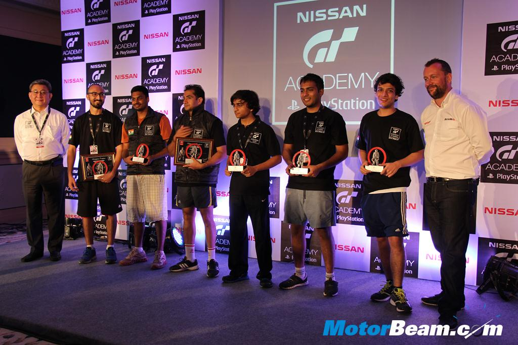 Nissan GT Academy India Finalists