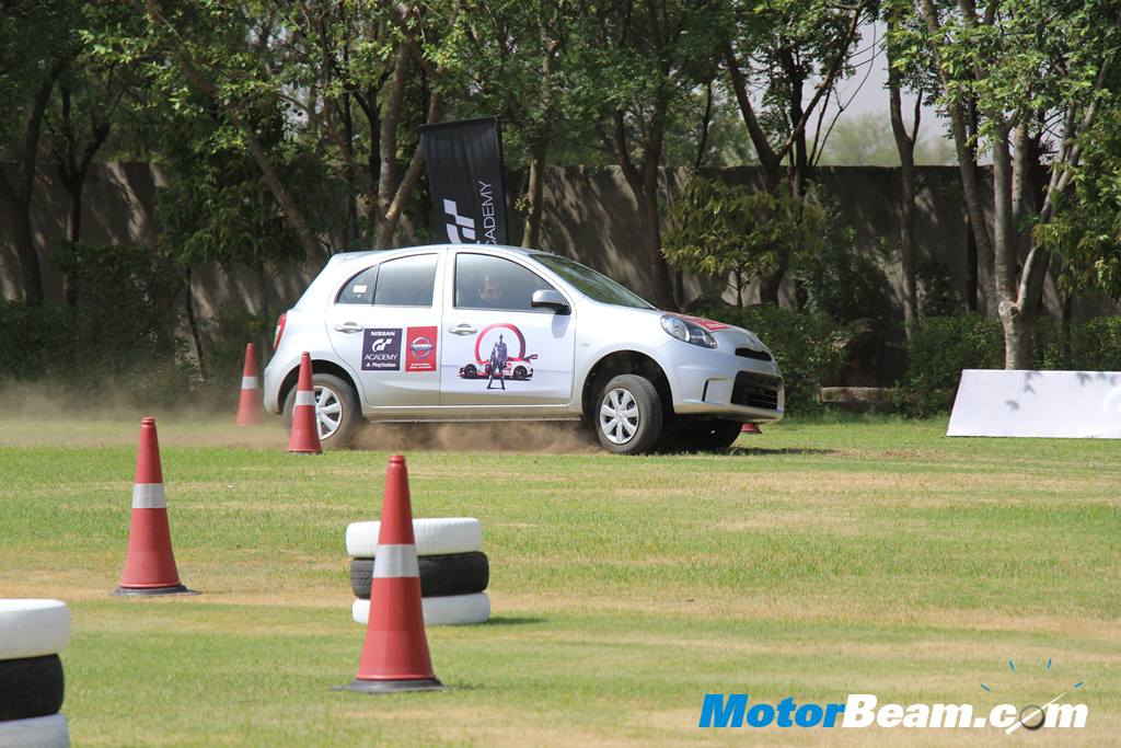 Nissan GT Academy Micra Time Trial