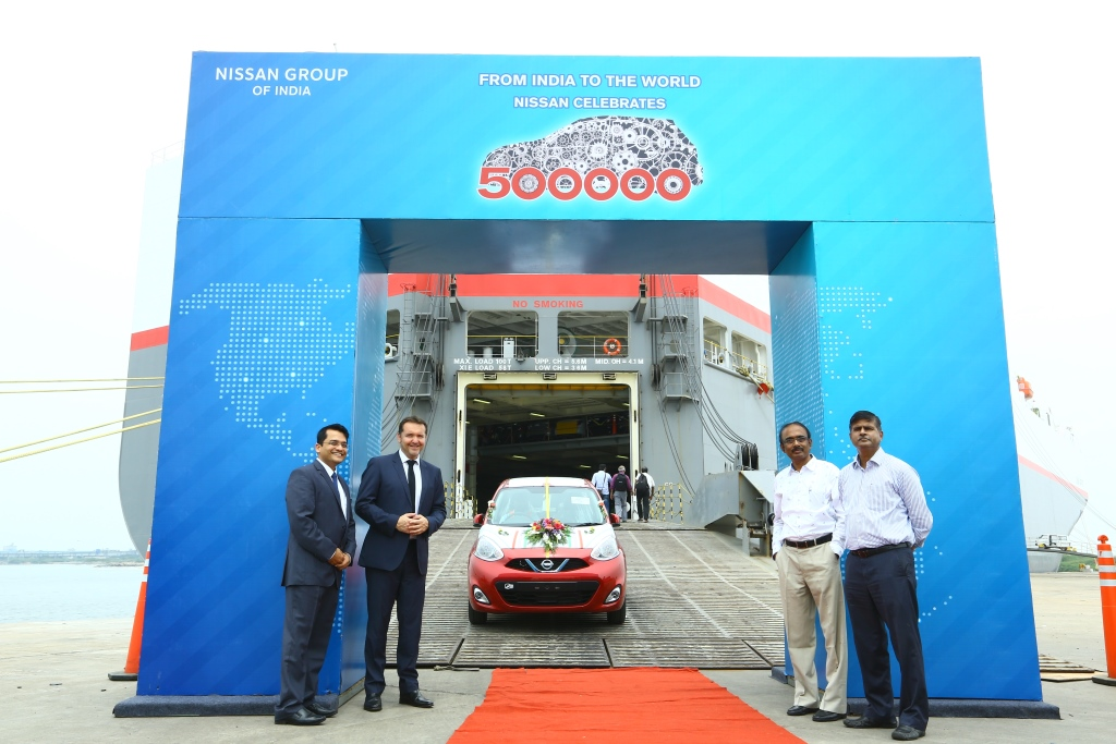 Nissan India 5 Lakh Exports Micra