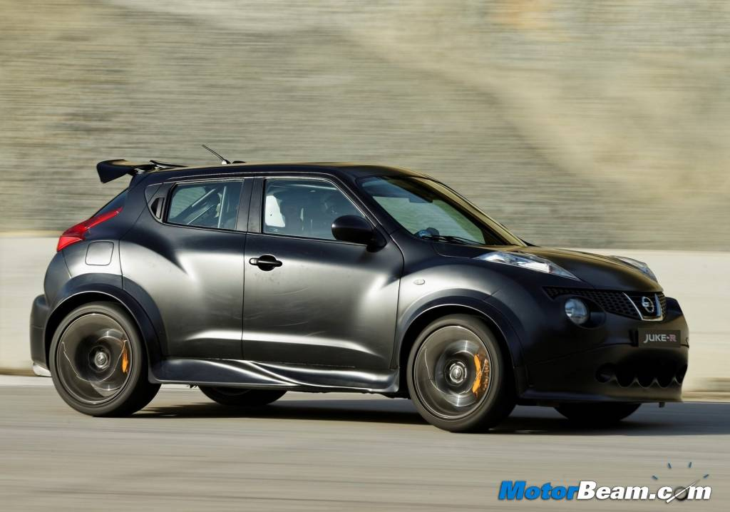 nissan juke-r test drive review