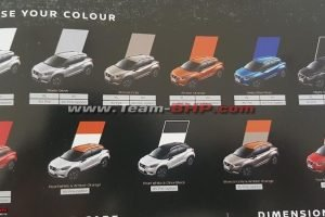 Nissan Kicks Colour Options