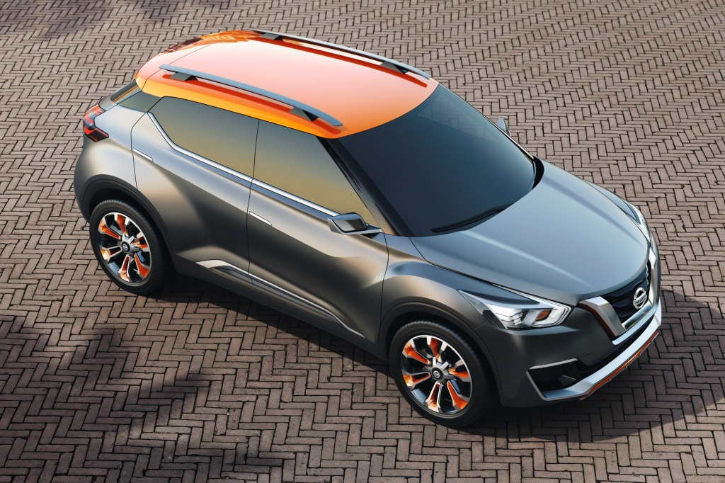 Nissan Kicks Concept Top
