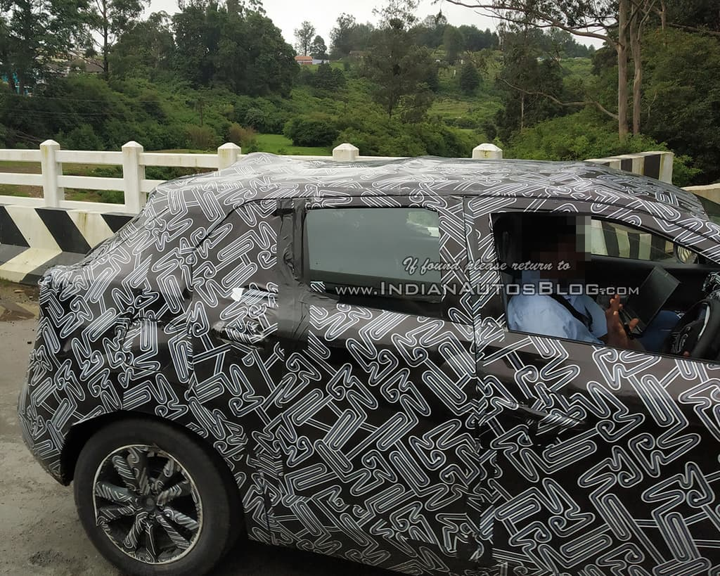Nissan Kicks India Spotted