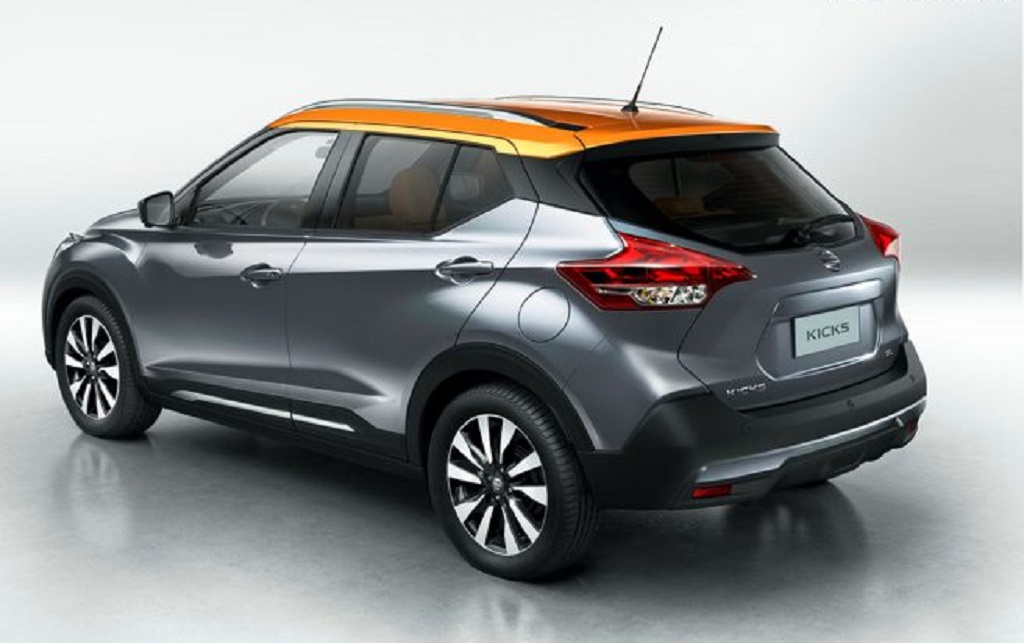 Nissan Kicks Rear