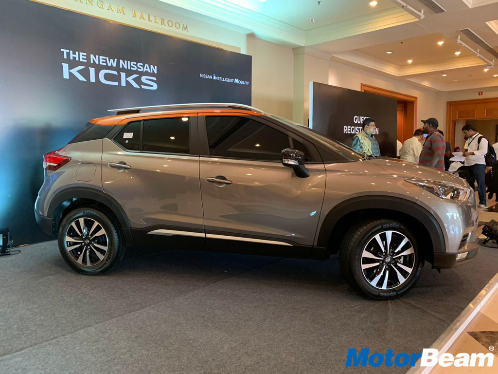 Nissan Kicks Side Profile