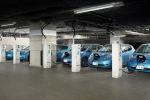 Nissan Leaf Vehicle-to-Building Program