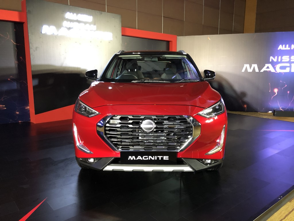 Nissan Magnite Reveal Front