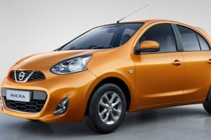 Nissan Micra CVT Sunshine Orange