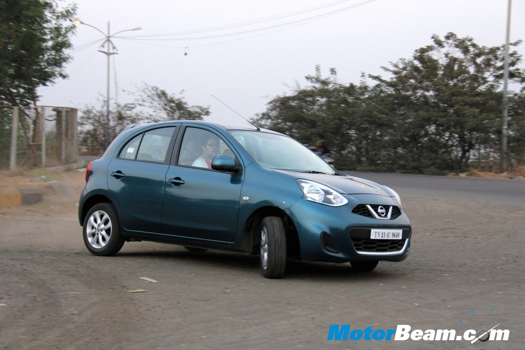 Nissan Micra Handling Review