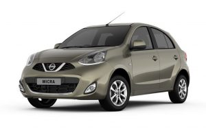 Nissan Micra Olive Green