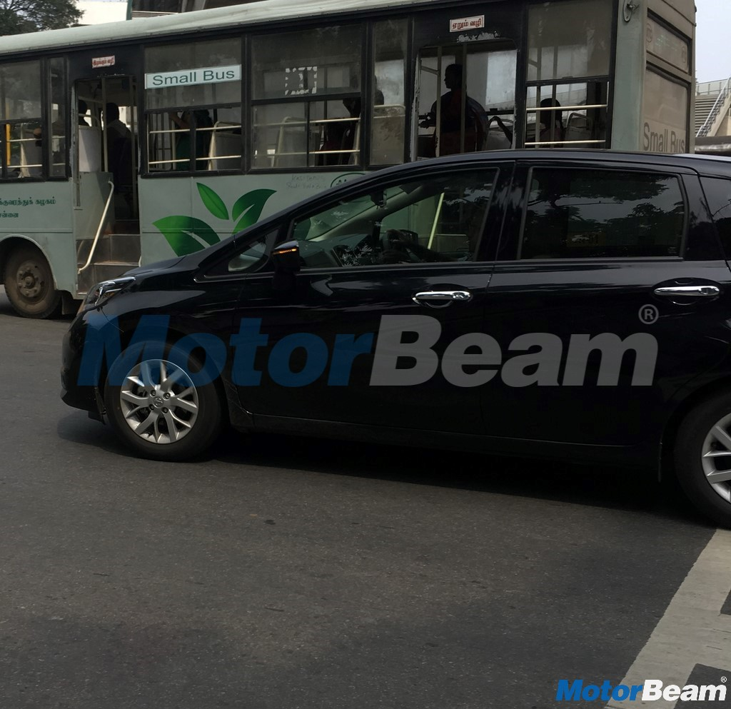 Nissan Note Spied In India
