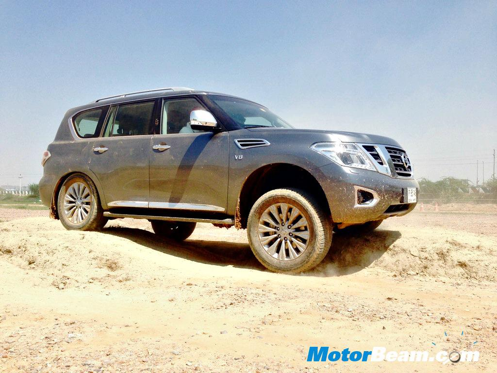 Nissan Patrol India Specifications