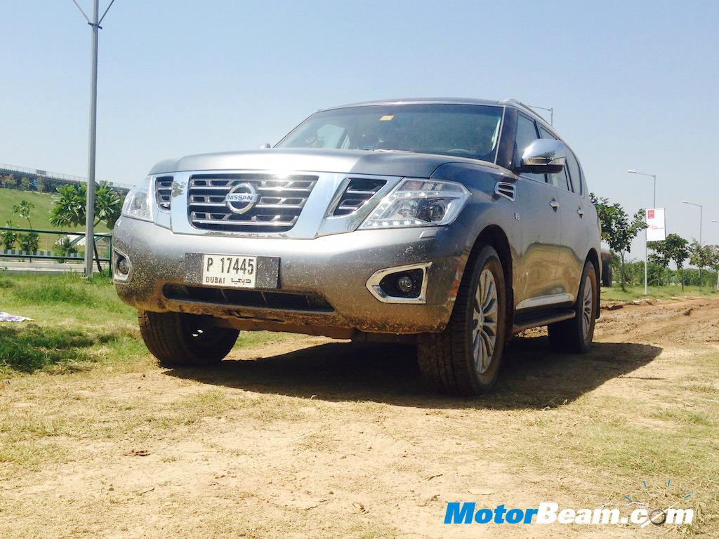 Nissan Patrol Showcased In India Will This V8 Petrol Suv Sell