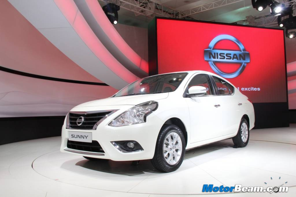 Nissan Sunny Facelift India 2014