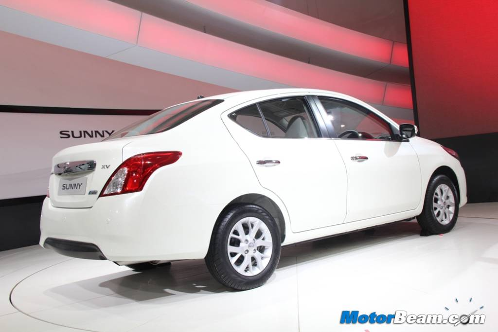 Nissan Sunny Facelift India Showcase