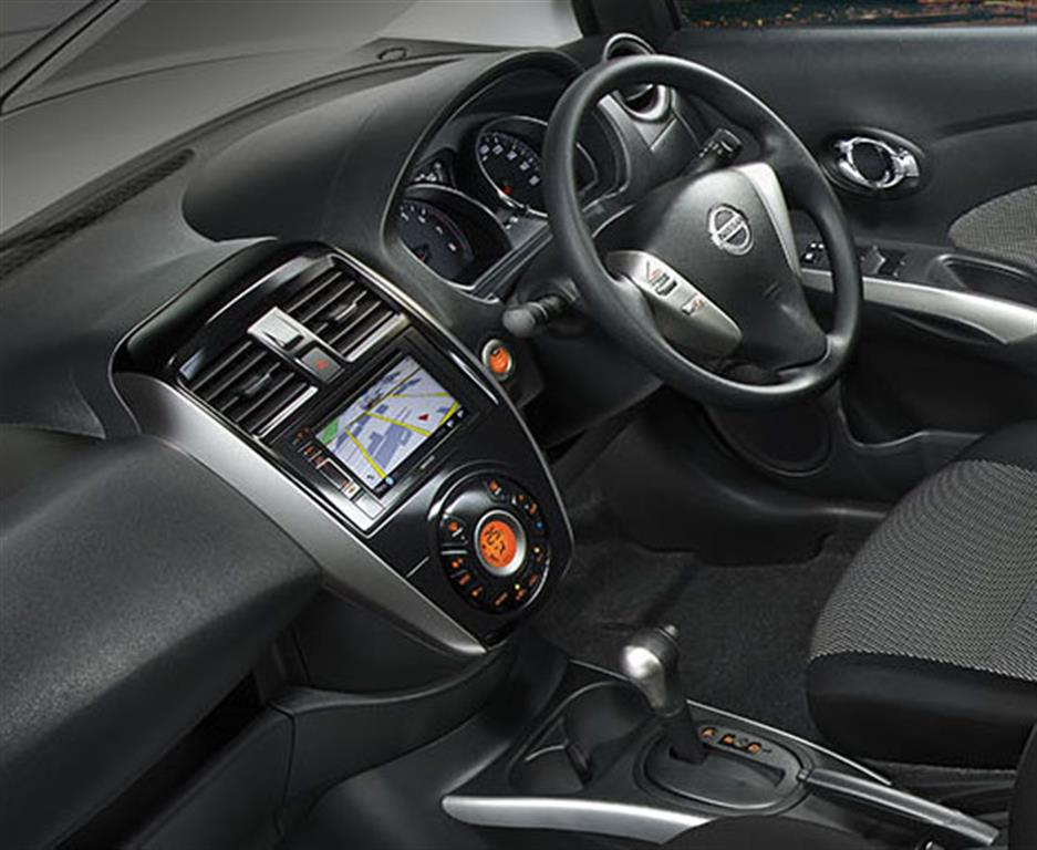 Nissan Sunny Facelift Interiors