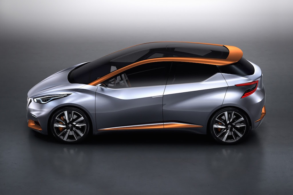 Nissan Sway Concept Side