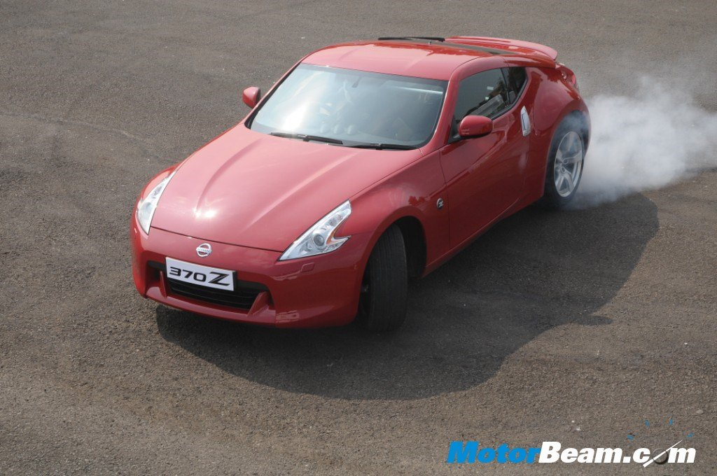 Nissan_370Z_Drift_India