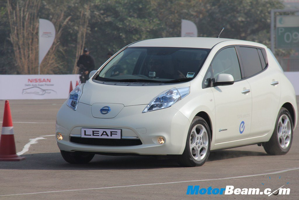 Nissan To Launch Leaf Electric Vehicle In India