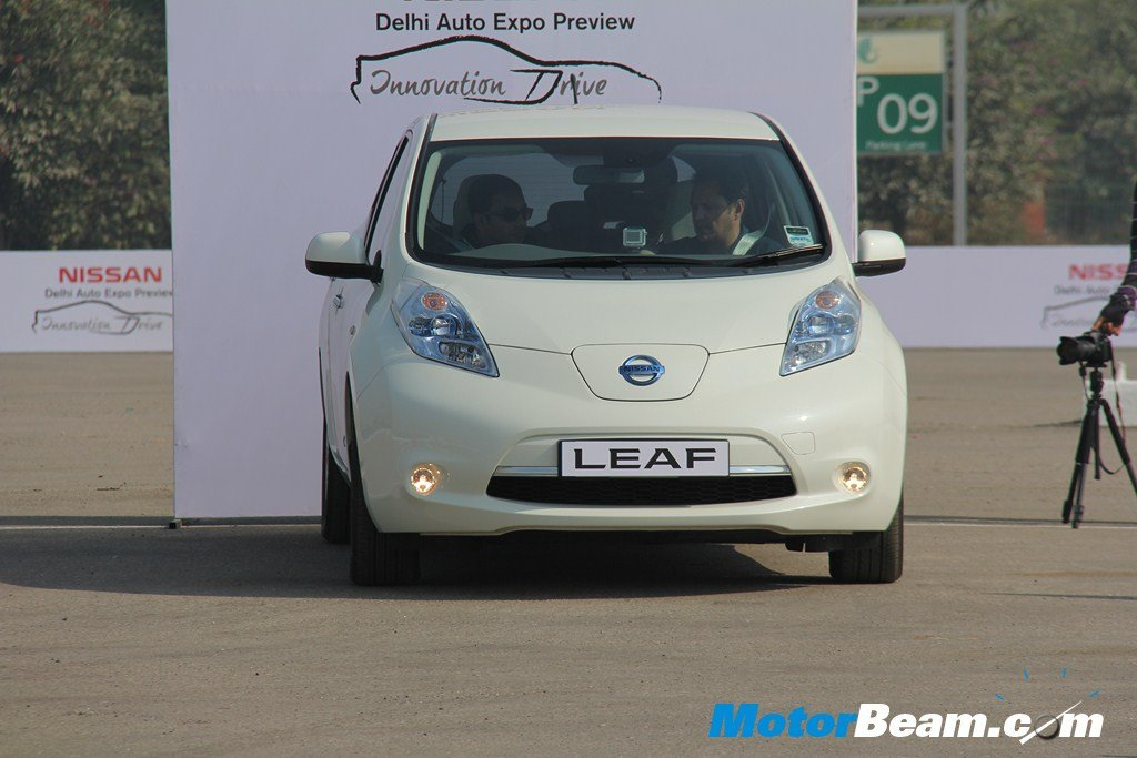 Nissan Leaf Ev India Launch In 2017 Limited Sales Planned