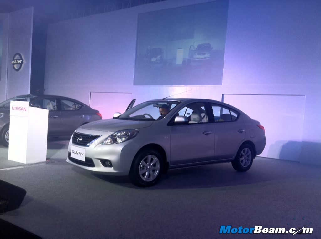 Nissan Sunny India Launch