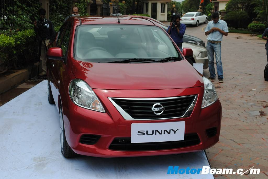 Nissan Sunny XL Front