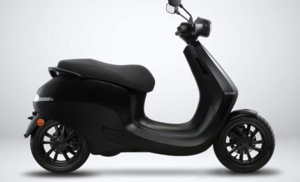 Ola Electric Scooter Side