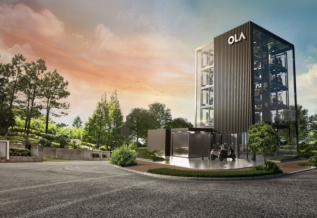 Ola Hypercharger Tower