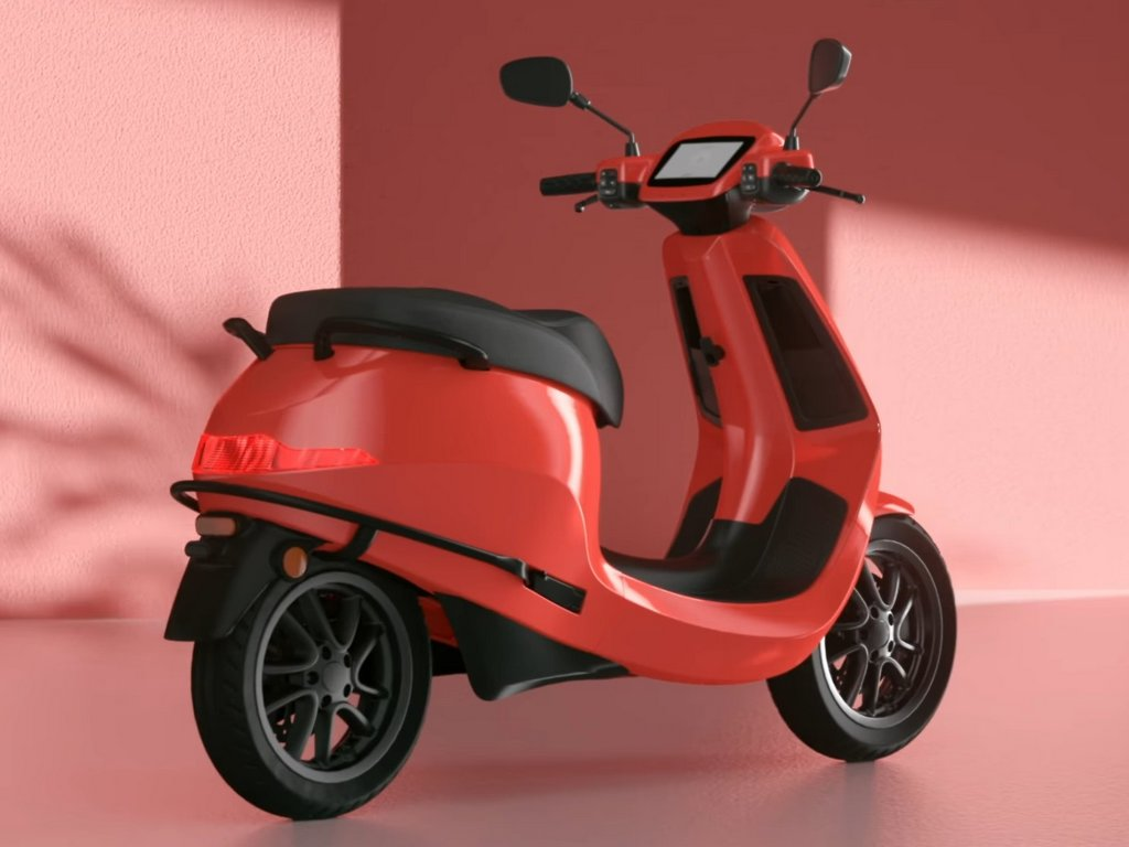 Ola Scooter Colours Red