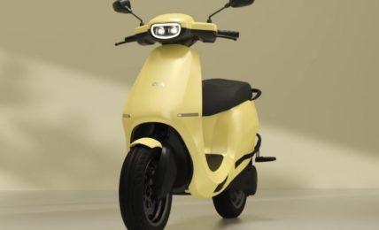 Ola Scooter Colours Yellow