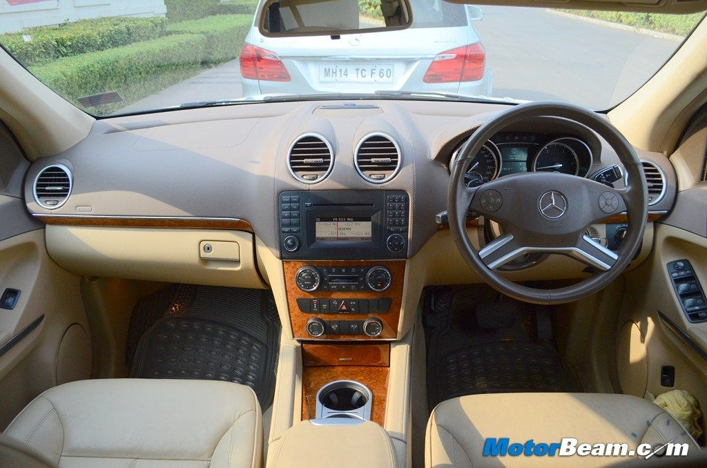 mercedes gl class interior in india. Black Bedroom Furniture Sets. Home Design Ideas