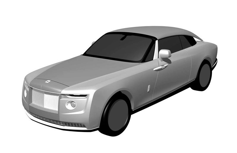 One-off Rolls-Royce front