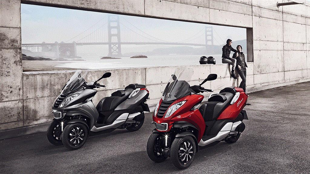 Peugeot E Scooter Export Begins From India Motorbeam