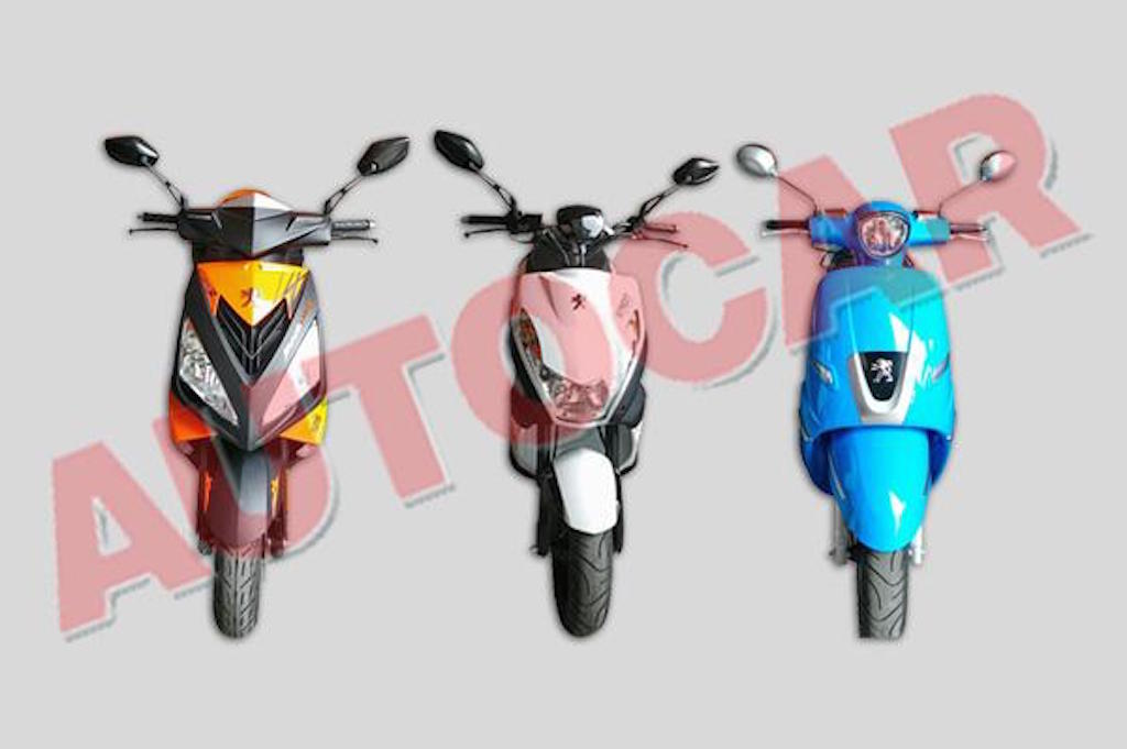Peugeot Scooters India Spied