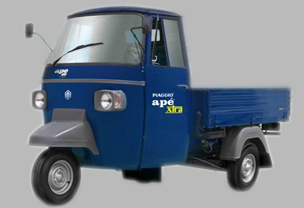 Piaggio Ape Stock Model