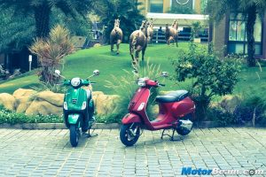 Piaggio Vespa 150 Test Ride Review