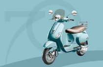Piaggio Vespa 70th Anniversary Edition